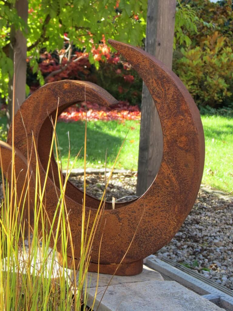 Edelrost pflanzschale gro pflanzkorb pflanzk bel metall for Gartendeko aus metall rostig