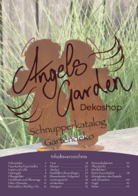 Blätterkatalog Edelrost Gartendeko Angels Garden Dekoshop