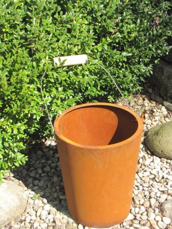 Edelrost pflanzgef e und edelrost schalen zum bepflanzen - Tiefe bilderrahmen zum dekorieren ...