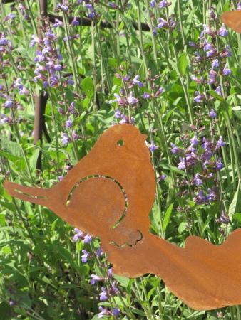 Edelrost elefantenbaby tom angels garden dekoshop for Rostelemente garten
