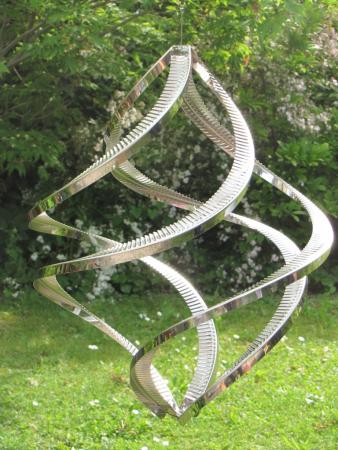 gartendeko edelstahl saule, rostfreie edelstahl dekosäulen und pflanzkübel - angels garden dekoshop, Design ideen