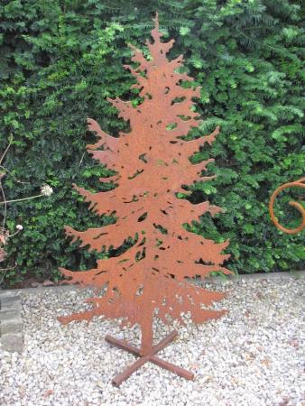 Weihnachtsbaum Metall Spirale.Weihnachtsbäume Aus Edelrost Angels Garden Dekoshop