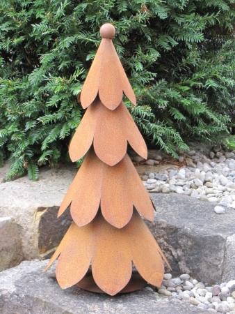 Rostiger Tannenbaum.Weihnachtsbäume Aus Edelrost Angels Garden Dekoshop