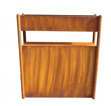 edelrost raumteiler parawand lora hochbeet und. Black Bedroom Furniture Sets. Home Design Ideas