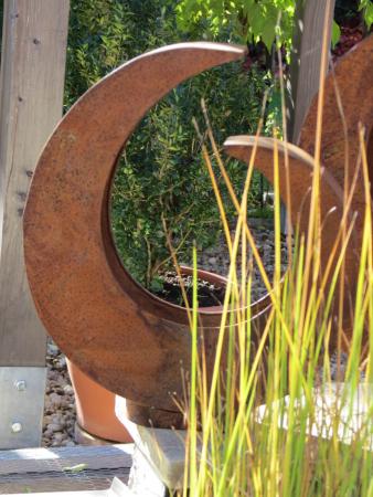 Edelrost pflanzk bel quadratisch klein angels garden for Rostelemente garten