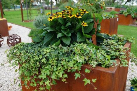 Rasenkanten f r edelrost hochbeet bausatz angels garden for Rostelemente garten
