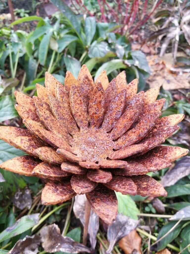 Edelrost Blume Isabella - Angels Garden Dekoshop