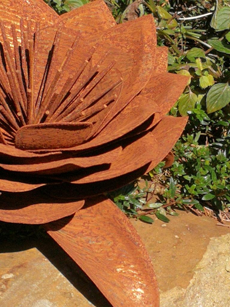 Edelrost Blume Rose - Angels Garden Dekoshop