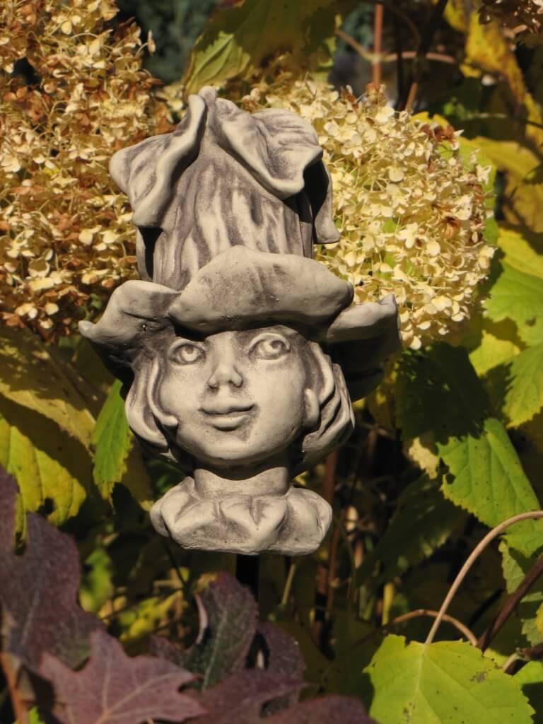 Blumenkind glockenrebe aus betonguss angels garden dekoshop for Dekostab garten