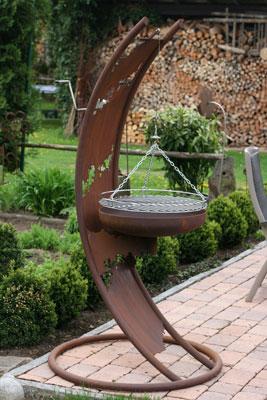 edelrost designer grill texas inkl grillrost angels garden dekoshop. Black Bedroom Furniture Sets. Home Design Ideas
