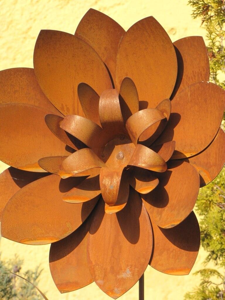 Edelrost Blume Brit - Angels Garden Dekoshop