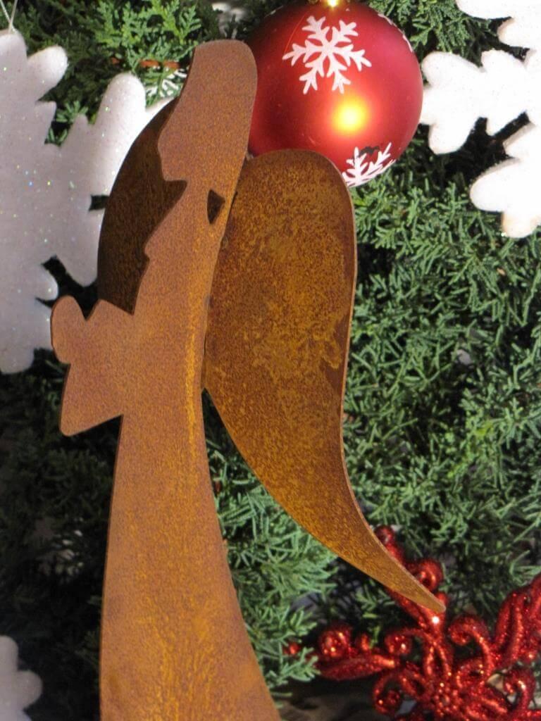 Edelrost engel flori angels garden dekoshop for Engel edelrost