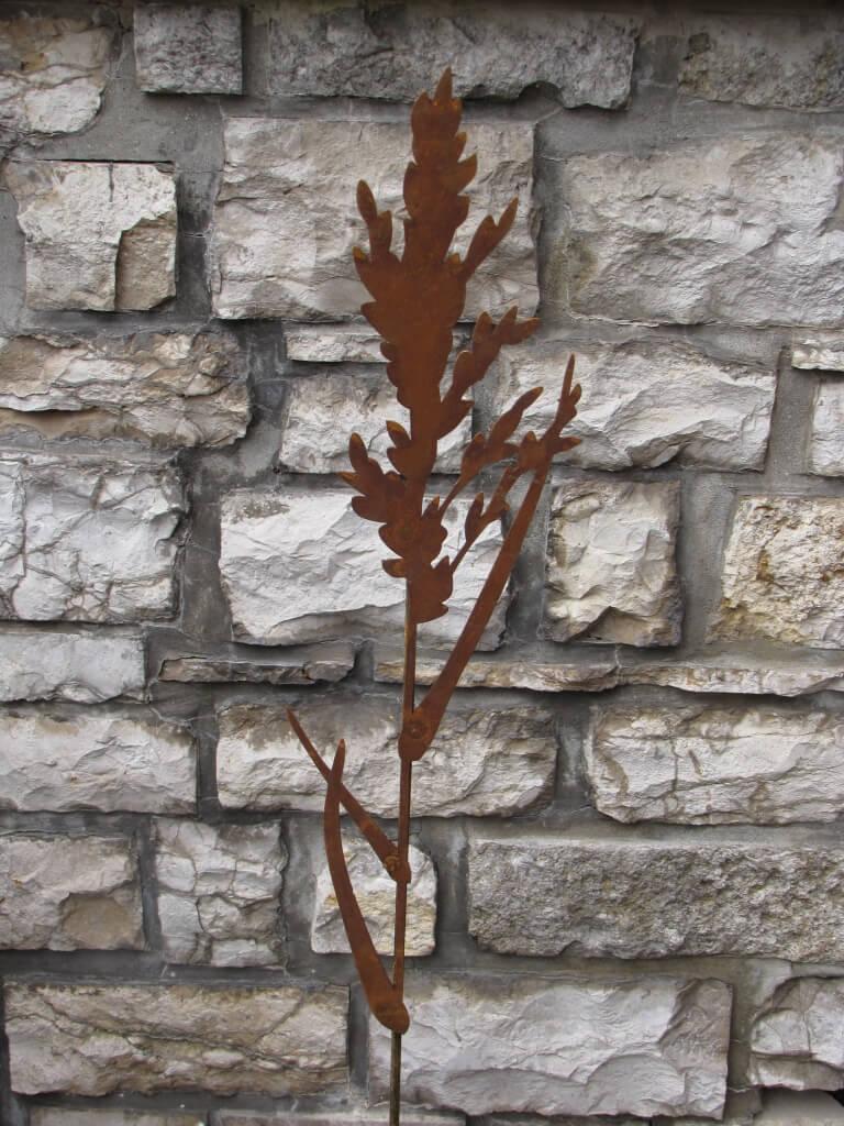Edelrost gartenstecker gr ser 2 angels garden dekoshop for Edelrost gartenstecker