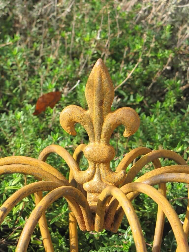 Gartendeko Krone Finn aus Edelrost klein Angels Garden