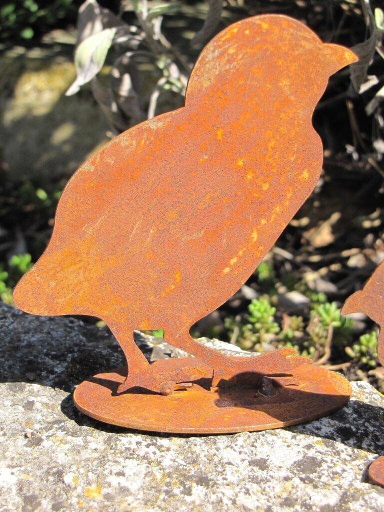 Edelrost k ken zweiteilig angels garden dekoshop for Edelrost tiere