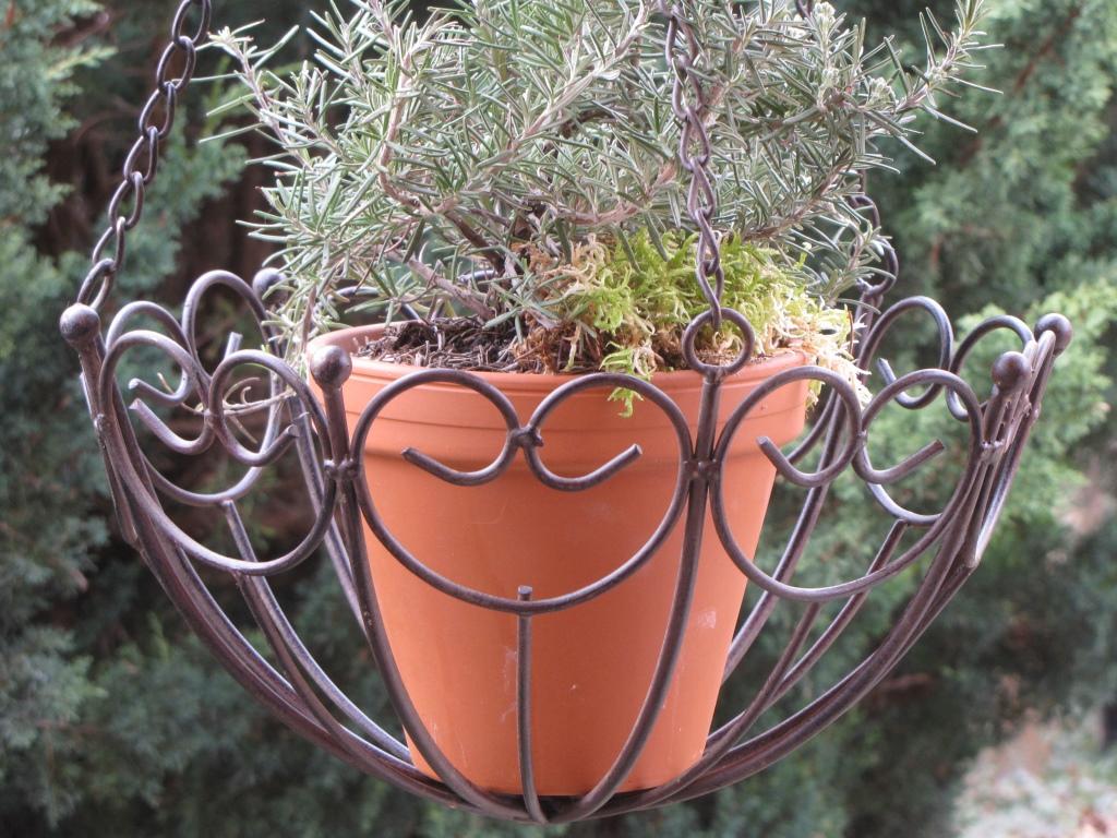 h ngekorb capizzi aus metall gro angels garden dekoshop. Black Bedroom Furniture Sets. Home Design Ideas