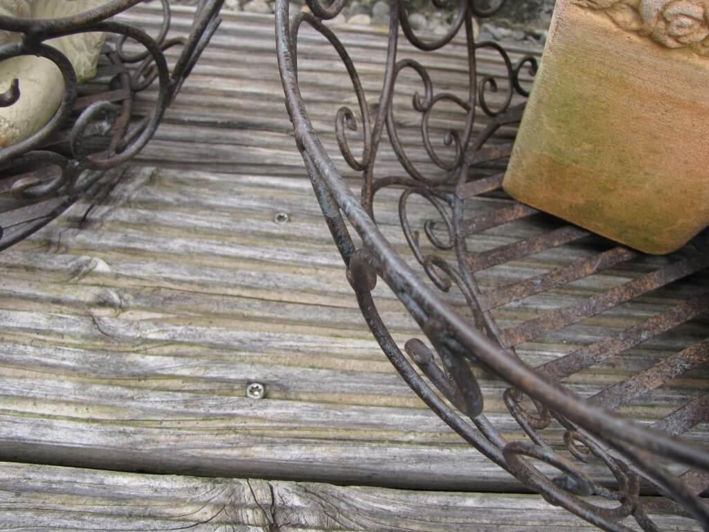 dekokorb pascale aus metall gro angels garden dekoshop. Black Bedroom Furniture Sets. Home Design Ideas