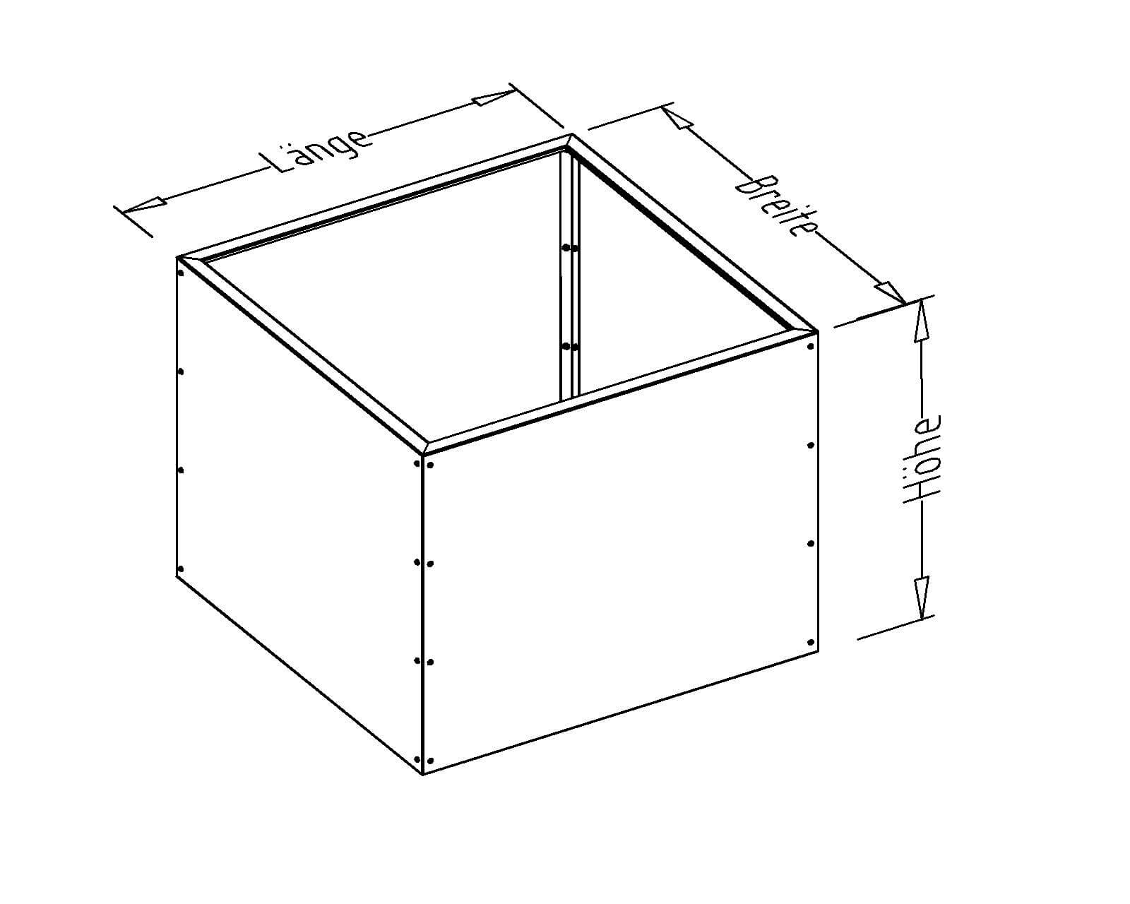 Prima Terra Edelrost Hochbeet Aus Metall Als Bausatz Breite 98 Cm
