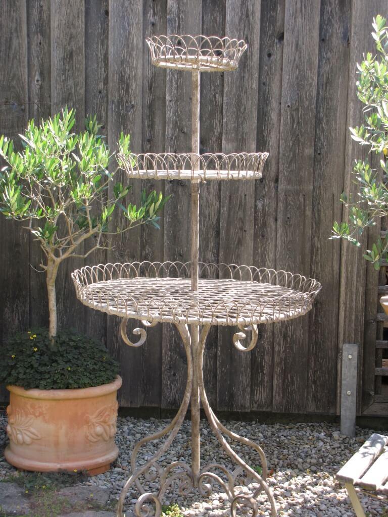Shabby chic etagere angels garden dekoshop for Gartendeko shabby vintage