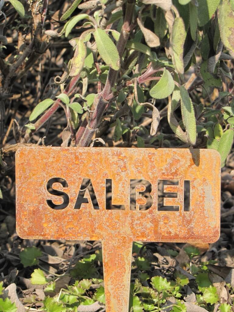 beetstecker aus edelrost salbei angels garden dekoshop