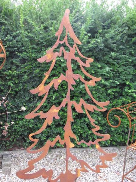 edelrost tannenbaum offen 150 cm angels garden dekoshop. Black Bedroom Furniture Sets. Home Design Ideas