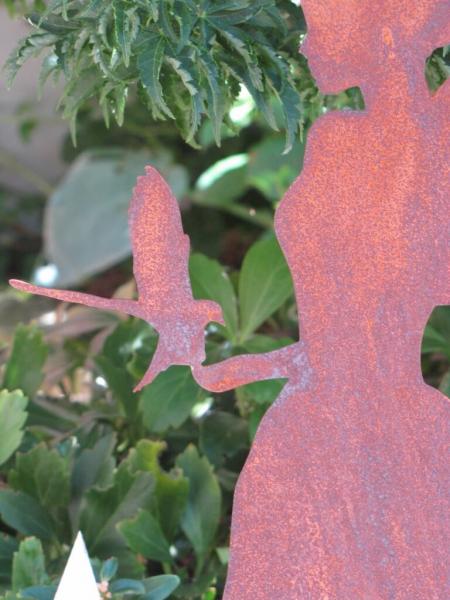 Edelrost engel louisa angels garden dekoshop for Engel edelrost