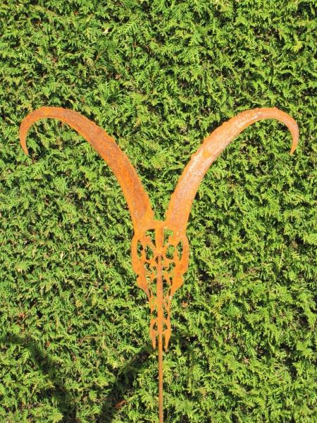 Edelrost gartenstecker capricorn angels garden dekoshop for Edelrost gartenstecker