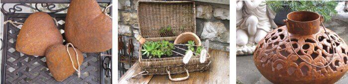Exklusive gartendekoration aus edelrost angels garden for Gartendeko neuheiten